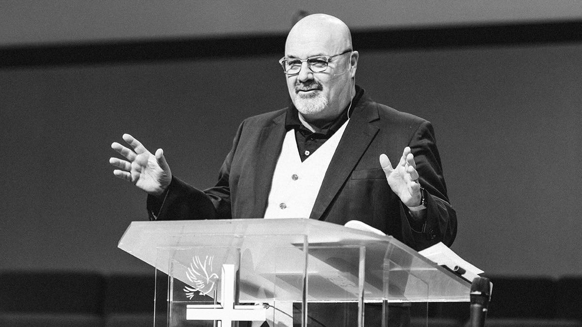 Bobby Harrington Preaching